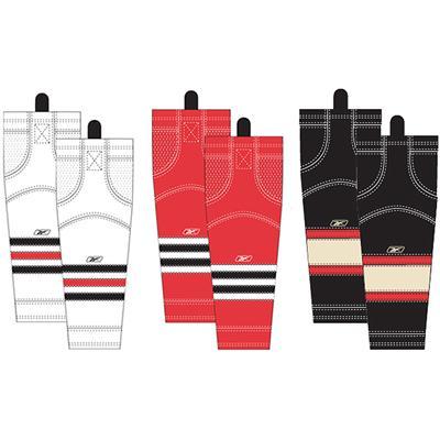 Intermediate (Reebok Chicago Blackhawks Edge SX100 Hockey Socks - Intermediate)