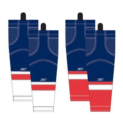Washington Capitals (Reebok Washington Capitals Edge SX100 Hockey Socks)