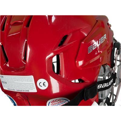 Helmet Features PORON® XRD (Bauer RE-AKT Hockey Helmet Combo)