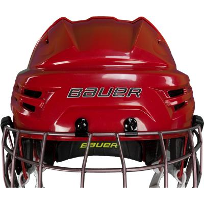 Latest in Comfort, Style, And Protection (Bauer Re-AKT Helmet Combo)