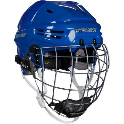 Blue (Bauer RE-AKT Hockey Helmet Combo)