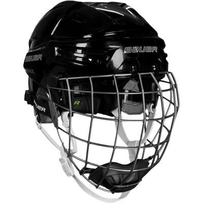 Black (Bauer RE-AKT Hockey Helmet Combo)