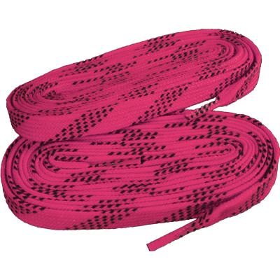 Neon Pink/Navy (Elite Hockey Pro-X7 Molded Tipped Laces)