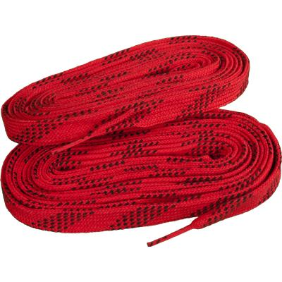 Red/Black (Elite Hockey Pro-X7 Molded Tipped Laces)