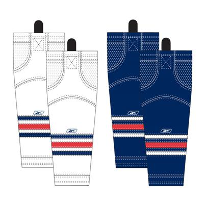 Columbus Blue Jackets (Reebok Columbus Blue Jackets Edge SX100 Hockey Socks)
