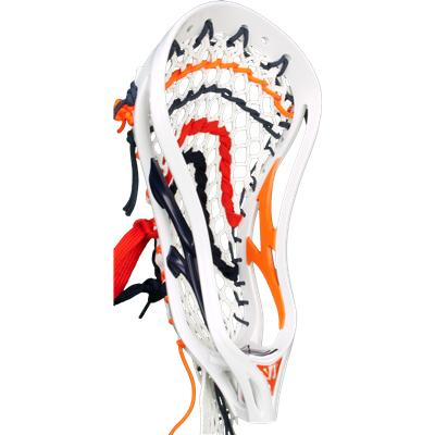 White/Navy/Orange (Warrior Evo 3X 2Face LTD Strung Head)