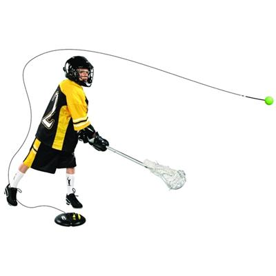 In Use (SKLZ Power Base Lacrosse)
