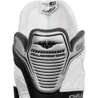 Nylon Tech Mesh w/ S.I.C.K. Quarter Ventilation (Mission Inhaler FL:1 Goalie Skates)