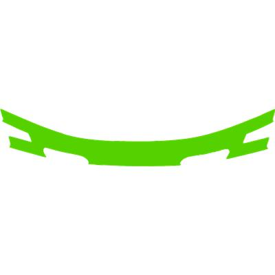 Lime Green (Cascade CPX-R Back Panel Decal)