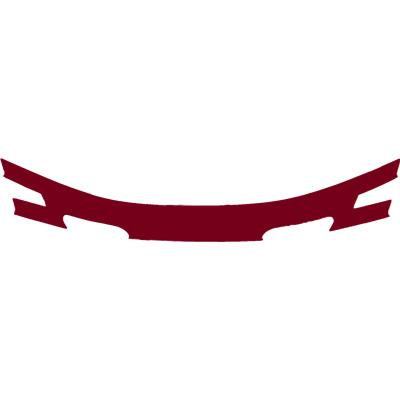 Maroon (Cascade CPX-R Back Panel Decal)