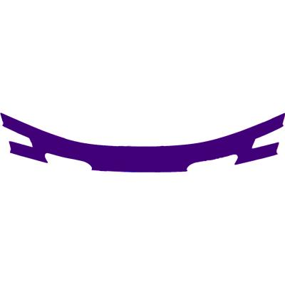 Purple (Cascade CPX-R Back Panel Decal)