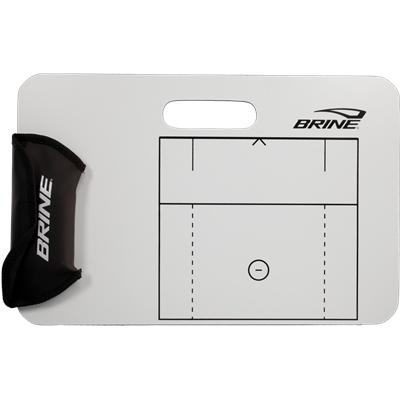Easy To Mark Up And Erase (Brine Men's Lacrosse Dry Erase Board)