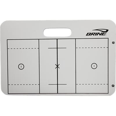 Full Lacrosse Field View (Brine Men's Lacrosse Dry Erase Board)