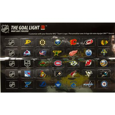 All 30 NHL Team Decals (Fan Fever Goal Light Night Light)