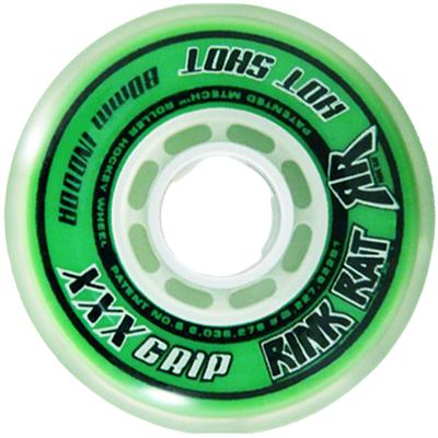 Green/White (Rink Rat Hot Shot XXX Inline Wheel)