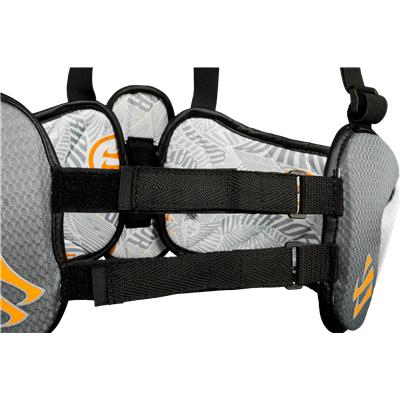 Designed To Maximize Speed And Protection (Warrior Burn Rib Pads)
