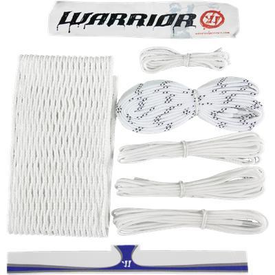 White (Warrior Goalie Stringing Kit - 12 Diamond)