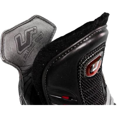 Branded Grip Helps Keep Your Foot Locked In (CCM U + Crazy Light Ice Skates)