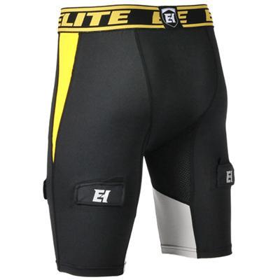 Back View (Elite Hockey Compression Jock Shorts)