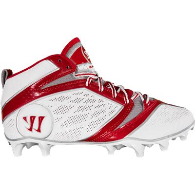 Side View (Warrior Burn 6.0 Speed Mid Cleats)
