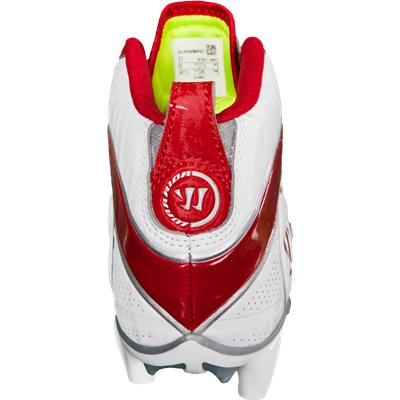 Back View (Warrior Burn 6.0 Speed Mid Cleats)