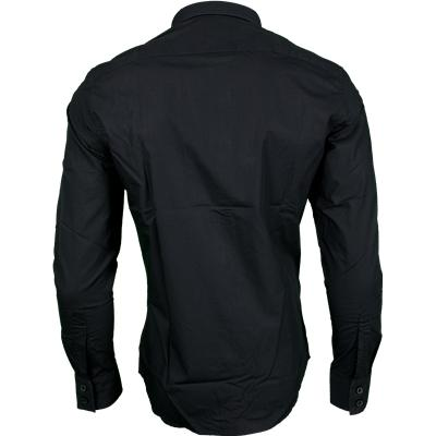 Back View (Gongshow Its Go Time Button-Up Long Sleeve Shirt - Mens) 20bfe6746