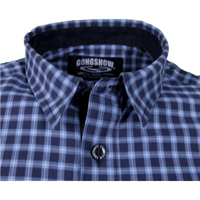 Gongshow Keep it Simple Button Up Long Sleeve Shirt  Mens   0dc3a91bf3087