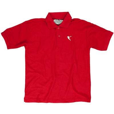 Red (Pipe City Lacrosse Ultra Brolo Polo Shirt)