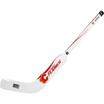 Calgary Flames (Sher-Wood White NHL Composite Mini Goalie Stick 2013)