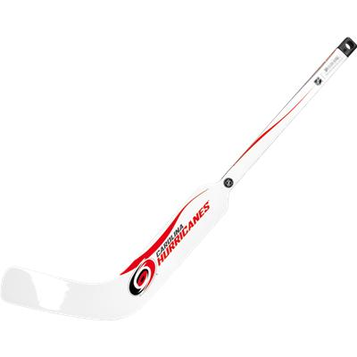 Carolina Hurricanes (Sher-Wood White NHL Composite Mini Goalie Stick 2013)