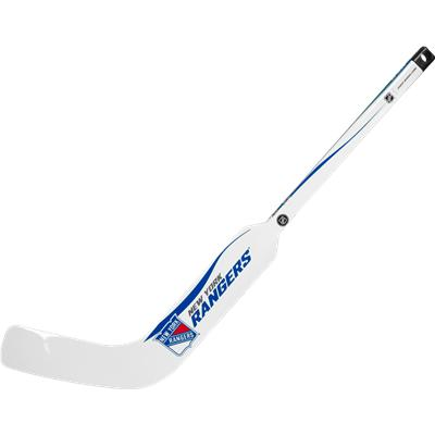 New York Rangers (Sher-Wood White NHL Composite Mini Goalie Stick 2013)