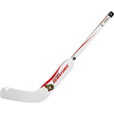 Ottawa Senators (Sher-Wood White NHL Composite Mini Goalie Stick 2013)