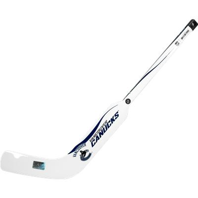 Vancouver Canucks (Sher-Wood White NHL Composite Mini Goalie Stick 2013)