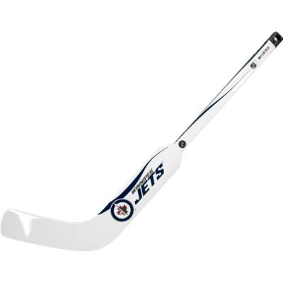 Winnipeg Jets (Sher-Wood White NHL Composite Mini Goalie Stick 2013)