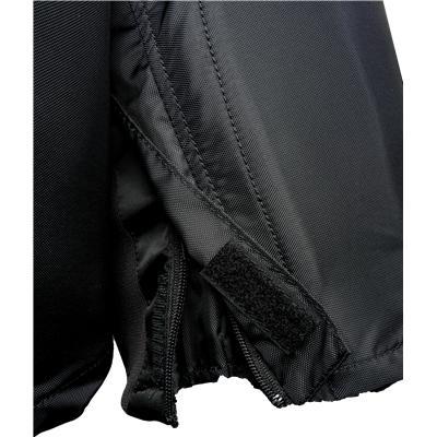 Thigh Zippers Help Keep Your Legs Cool (Easton Mako Hockey Pants)
