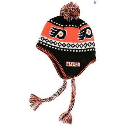 Black Orange White (47 Brand Philadelphia Flyers Abomination Knit Hat) e690e1a7bc15