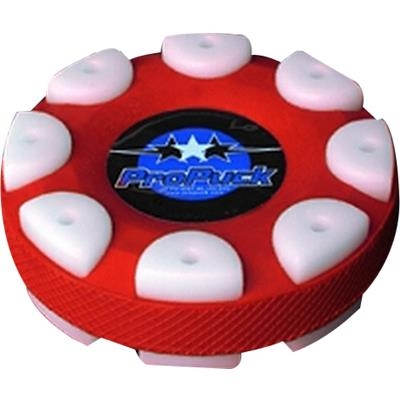 Red (Pro Puck Inline Hockey Puck)