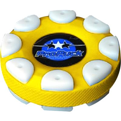Yellow (Pro Puck Inline Hockey Puck)