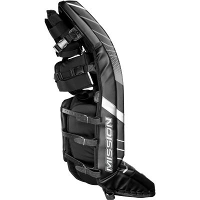 Slyde Technology Built Into Side Of Pad (Mission Slyde Series Leg Pads)