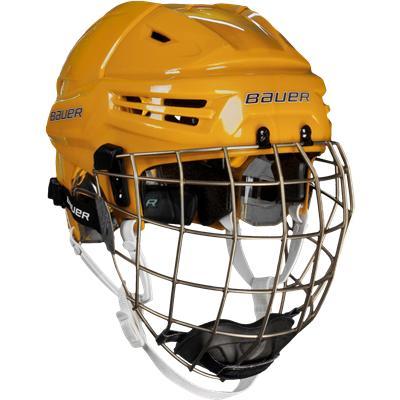 Gold (Bauer RE-AKT Hockey Helmet Combo)