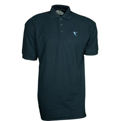 Navy (Pipe City Lacrosse Ultra Brolo Polo Shirt)