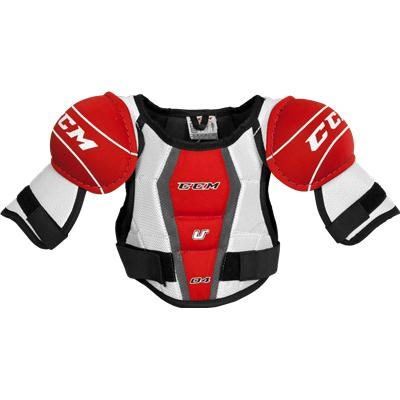 Front View (CCM U + 04 Shoulder Pads)