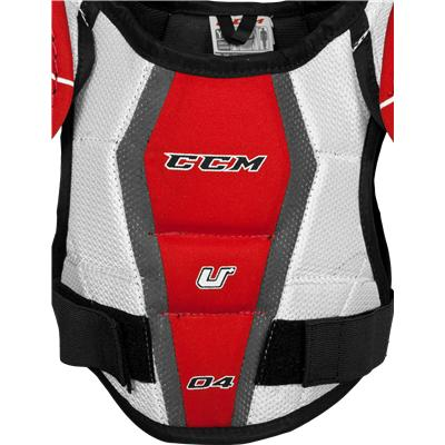 Dual-Layer Foam Adds Great Protection (CCM U + 04 Shoulder Pads)