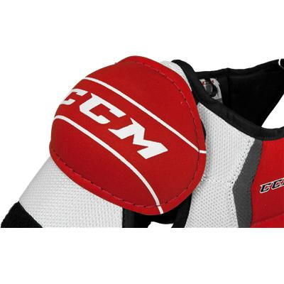 Injection Molded Caps Provide Great Protection (CCM U + 04 Shoulder Pads)