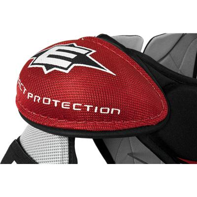 Molded PE Foam Protects Your Shoulders (Easton Stealth S3 Shoulder Pads)