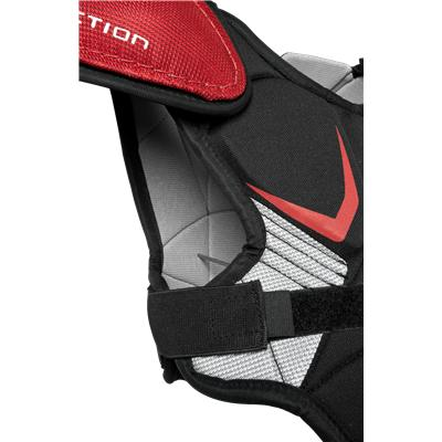 Straps Keep You Secure (Easton Stealth S3 Shoulder Pads)