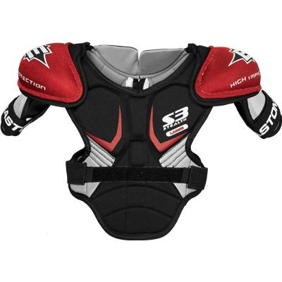 Front View (Easton Stealth S3 Shoulder Pads)