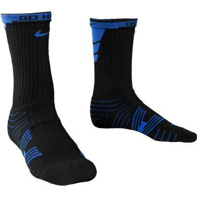Royal/Black (Nike Performance Crew Socks - 2 Pack)