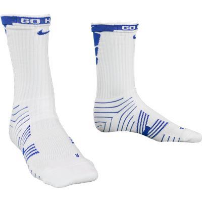 Royal/White (Nike Performance Crew Socks - 2 Pack)