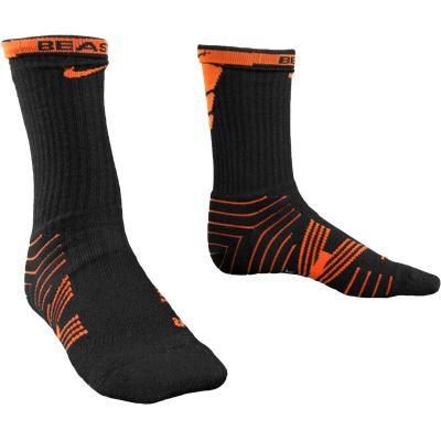 Orange/Black (Nike Performance Crew Socks - 2 Pack)
